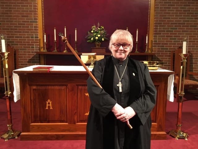 lay liturgical verger rose ann vestry - St. Philip's Episcopal Church